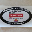 2001 NHRA Contestant Decal Madison