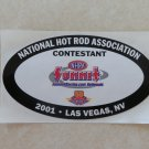 2001 NHRA Contestant Decal Las Vegas 1