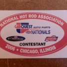 2006 NHRA Contestant Decal Chicago