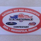 2006 NHRA Contestant Decal Indy