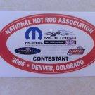 2006 NHRA Contestant Decal Denver