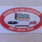 2006 NHRA Contestant Decal Dallas