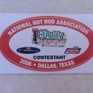 2006 NHRA Contestant Decal Dallas