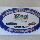 2007 NHRA Contestant Decal Topeka