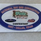 2007 NHRA Contestant Decal Dallas