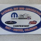 2007 NHRA Contestant Decal Denver