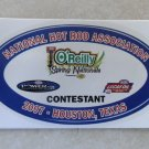 2007 NHRA Contestant Decal Houston