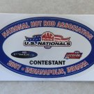 2007 NHRA Contestant Decal Indy