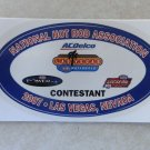 2007 NHRA Contestant Decal Las Vegas Fall Race
