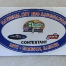 2007 NHRA Contestant Decal Madison
