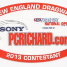 2013 NHRA Contestant Decal Northeast National Open Epping