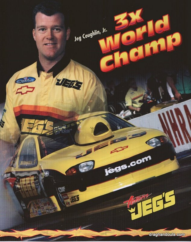 2004 NHRA PS Handout Jeg Coughlin (3X World Champ)