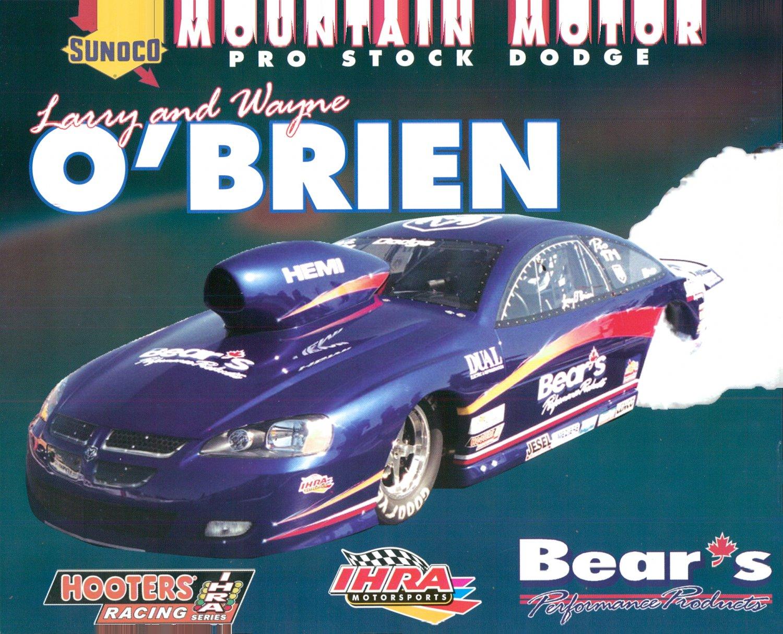 2004 NHRA PS Handout Larry O'Brien