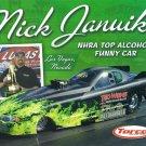 2014 NHRA AFC Handout Nick Januik