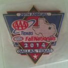 2014 NHRA Event Patch Dallas