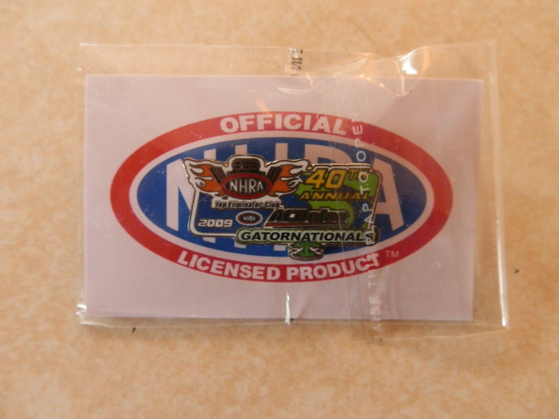 2009 NHRA Event Pin Gainesville TEC