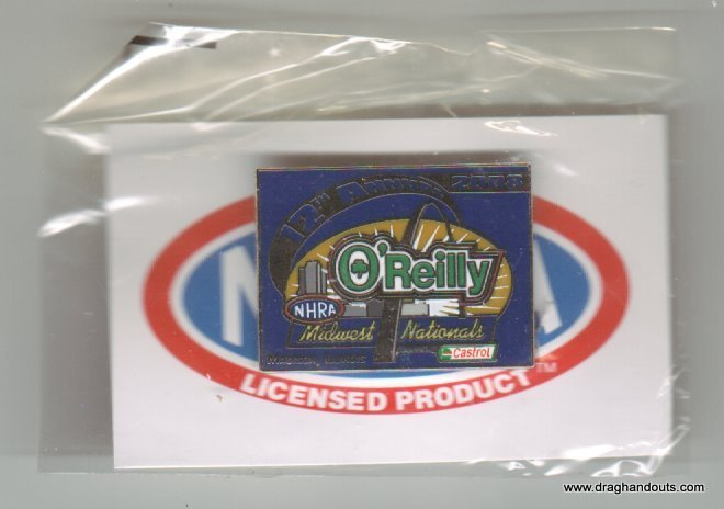 2008 NHRA Event Pin St. Louis