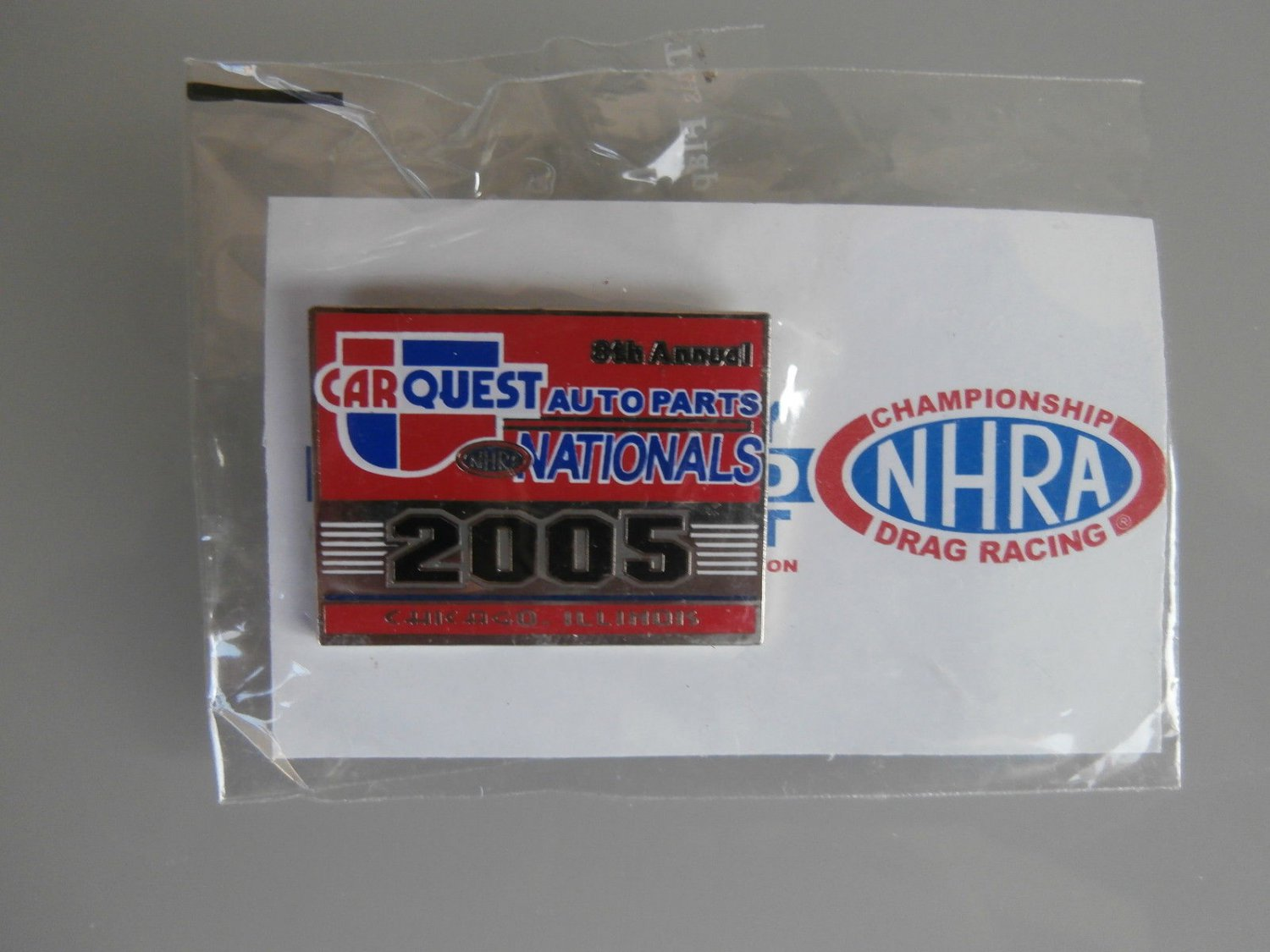 2005 NHRA Event Pin Chicago