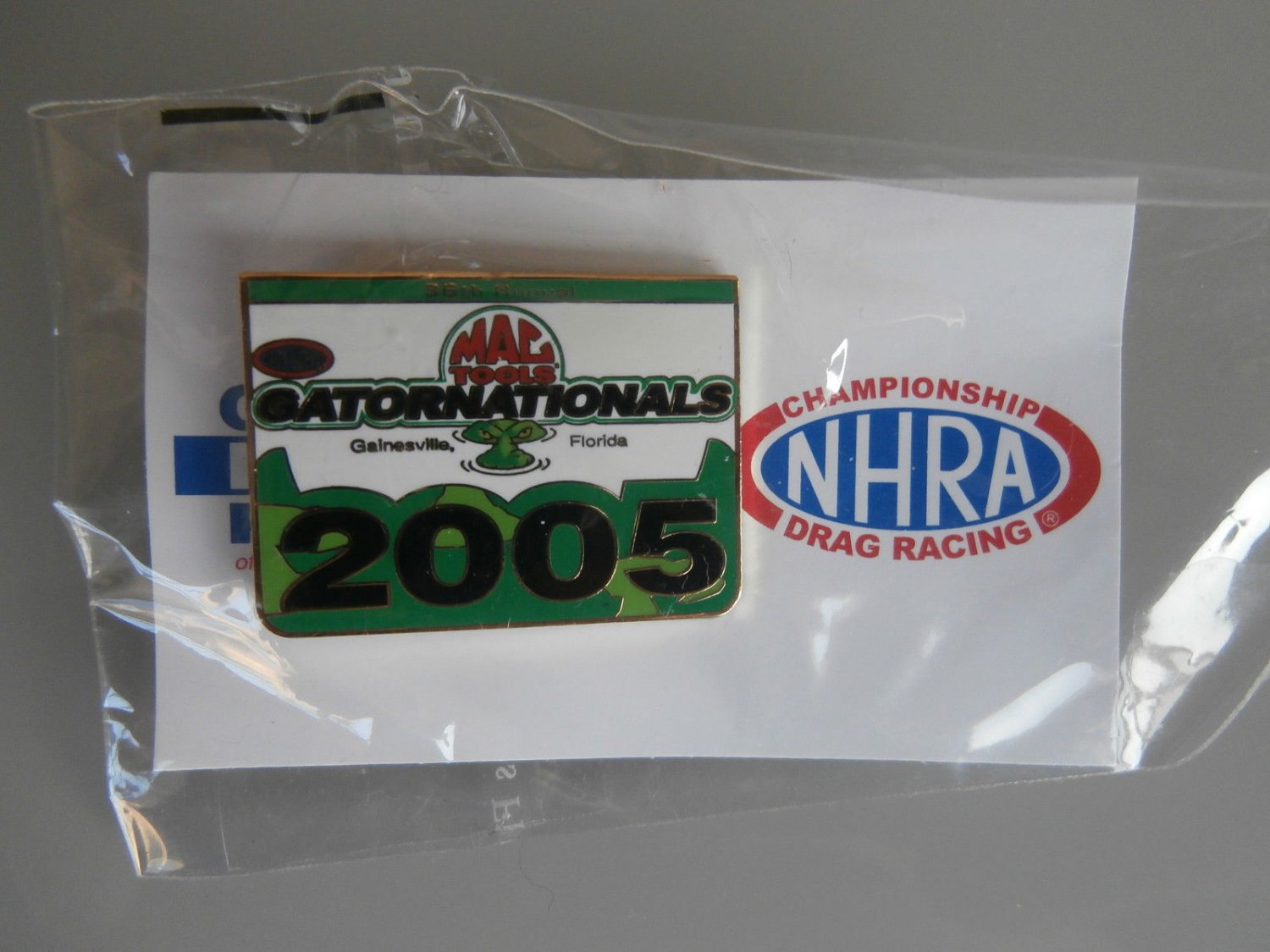 2005 NHRA Event Pin Gainesville