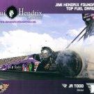 2015 NHRA TF Handout JR Todd (Jimi Hendrix)