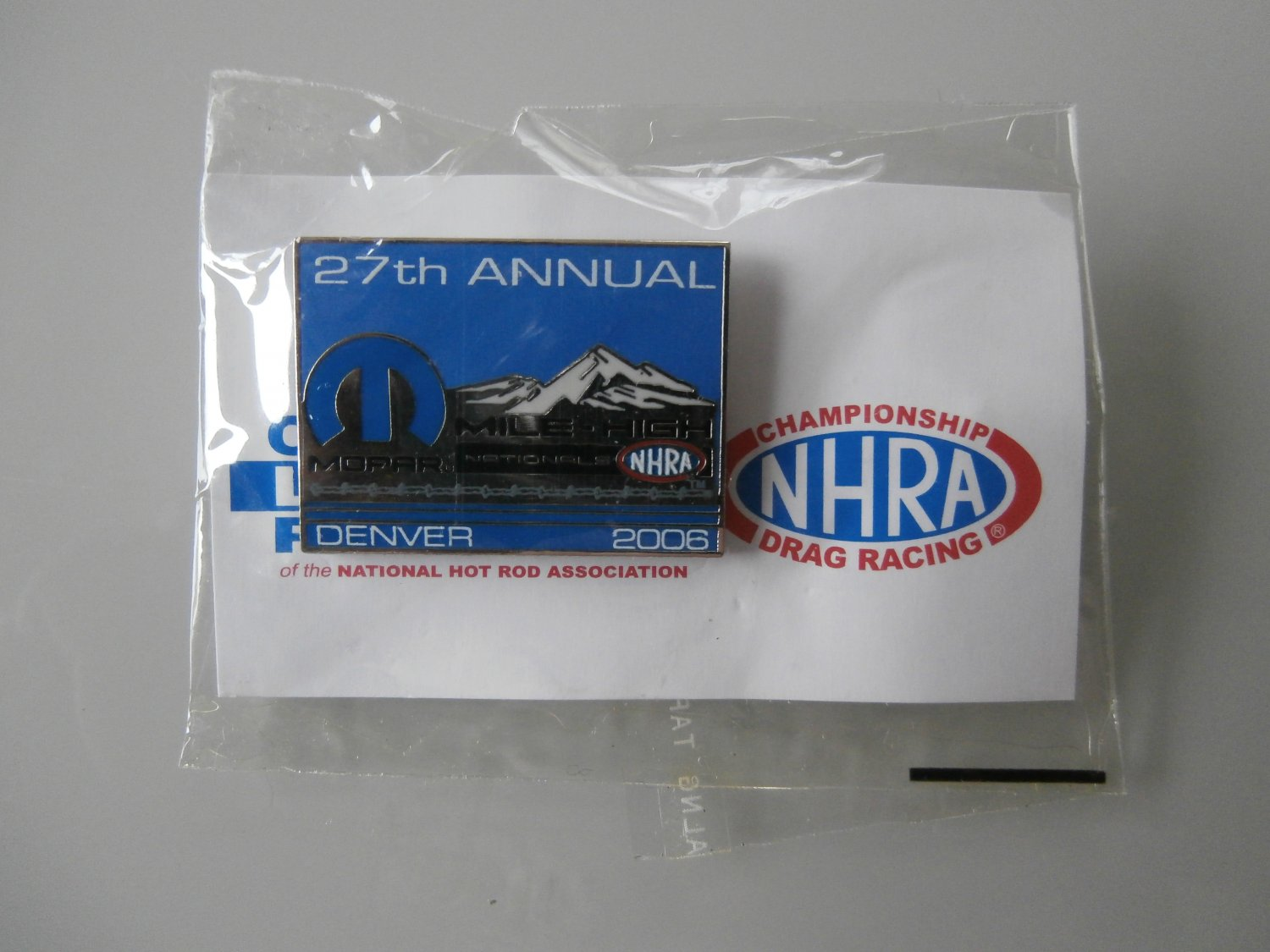 2006 NHRA Event Pin Denver
