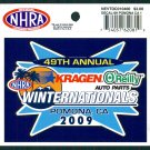 2009 NHRA Event Decal Pomona Winternationals