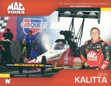 2017 NHRA TF Handout Doug Kalitta (version #1)