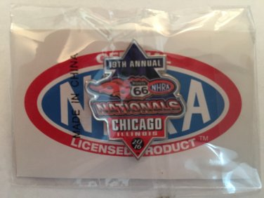 2016 NHRA Event Pin Chicago
