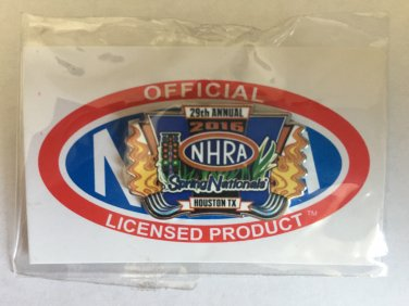 2016 NHRA Event Pin Houston