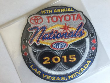 2016 NHRA Event Patch Las Vegas (Fall Race)