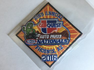 2016 NHRA Event Patch Phoenix
