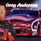 2017 NHRA PS Handout Greg Anderson