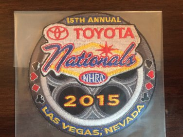 2015 NHRA Event Patch Las Vegas Fall Race