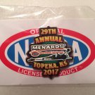 2017 NHRA Event Pin Topeka