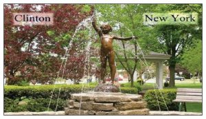 Clinton, NY Village Green Fountain Magnets 10 for $10.00