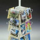 Postcard Spinner Display Rack for Postcards