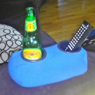 Drink Holder- Weighted Cup Holder- The Beanie Baby for Your Beer! (Blue)