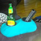 Drink Holder- Weighted Cup Holder- The Beanie Baby for Your Beer! (Green)