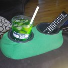 Drink Holder- Weighted Cup Holder- (Large Cup Green)