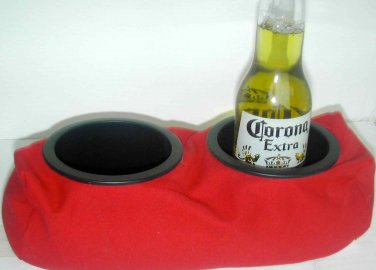 Drink Holder- Weighted Cup Holder- (Large Cup Red)