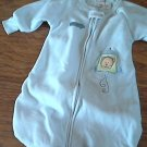 Carter's baby boys blue jumpsuit sack  one size
