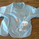 Duck Duck Goose baby boy's blue shirt 0-3 mos