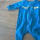 Gerber baby boy's blue sleepwear/outfit 0-3 mos