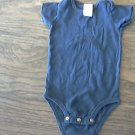 Carter's baby boys navy bodysuit L (16.5-20.5 LB)