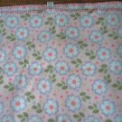 Parent's Choice baby girl's pink daisy blanket