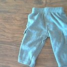 Garanimals baby boy's med gray pant 3-6 mos