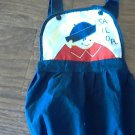 12 mos baby boy's navy overall