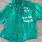 Red Ape baby boy's green short sleeve shirt 12 mos