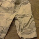 George baby boy's pale camel pant 3-6 mos