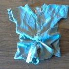 3 mos baby boy's gray bodysuit